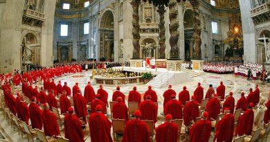 Papa Francisco anuncia nomeação de 5 novos cardeais