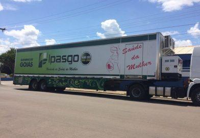 Clínica móvel do Ipasgo estará em Jataí esta semana