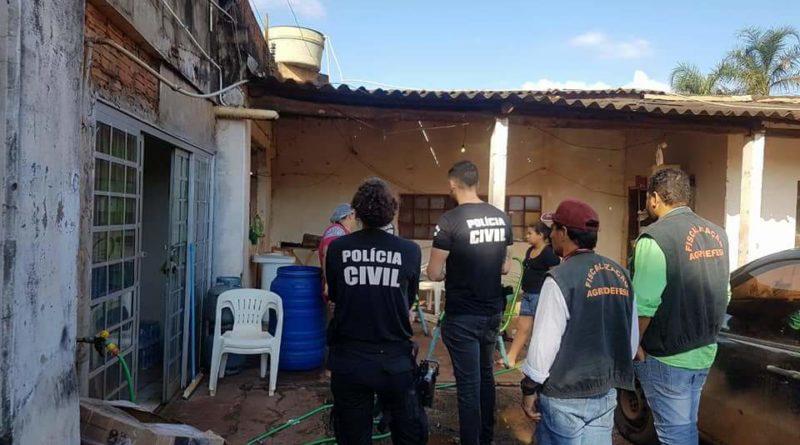 Polícia Civil de Jataí realiza operação para combater abates clandestinos