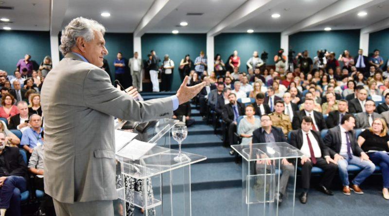 Ronaldo Caiado lança programa Goiás Mais Transparente