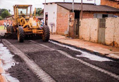 Prefeitura de Jataí lança Programa de recapeamento em toda a cidade.