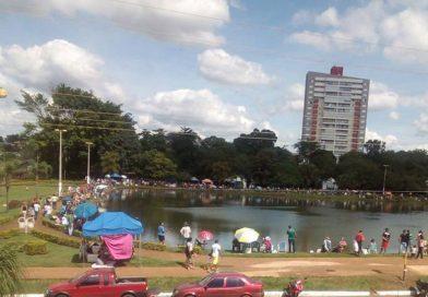 Realizado torneio de pesca no lago Diacuí